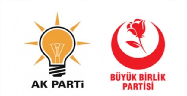 AK Parti ve BBP arasında ittifak görüşmesi...
