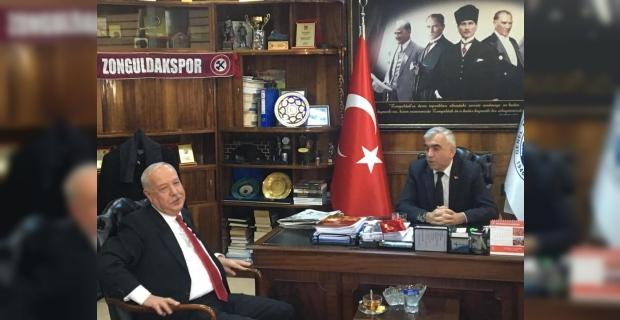 Başkan Akdemir'den VEDA ziyaretleri