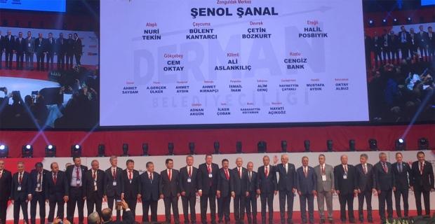 CHP'de Adaylar Tanıtıldı