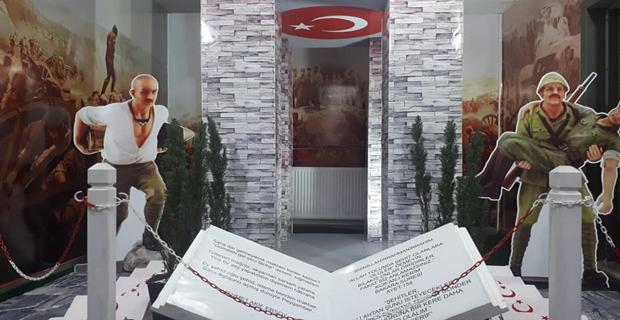 Dr. Derviş Nihat Arkat'a Şehitlik Köşesi