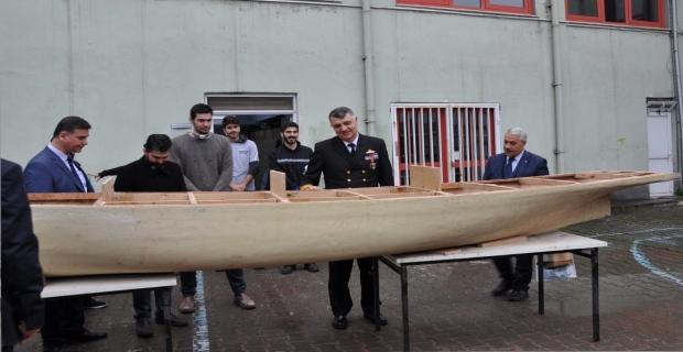 Karadeniz Bölge Komutanı'ndan Denizcilik Fakültesi'ne ziyaret