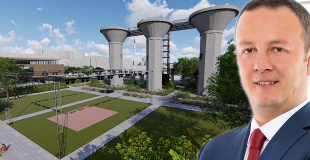Lavuar Alanı ve Nergis Park böyle olacak