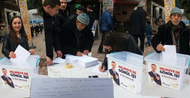 Zonguldak Selim Alan'a mektup yazıyor...