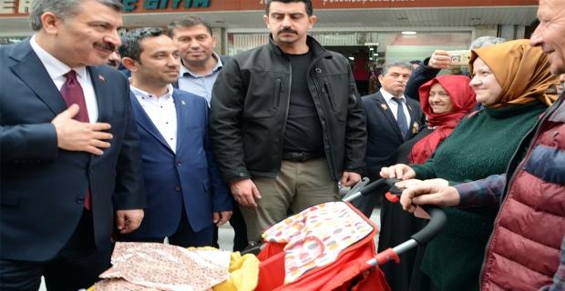 """Bakan Koca: """"31 Mart sadece bir belediye seçimi değil"""""""