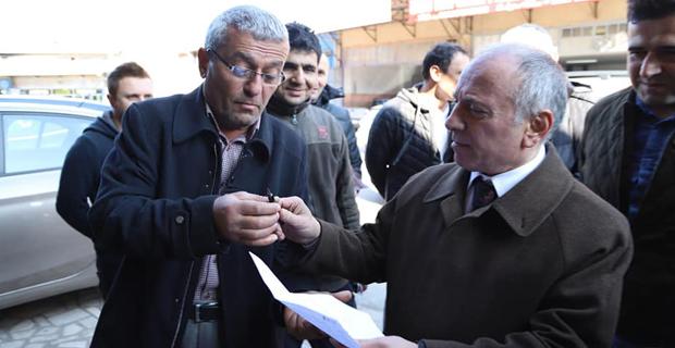 CHP adayı, Gazipaşa'da kaldırımları daraltacak