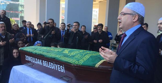 İntihar eden İl Müdürü'ne tören düzenlendi