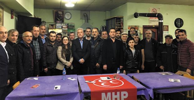 MHP'ye Kavaklık'ta büyük ilgi