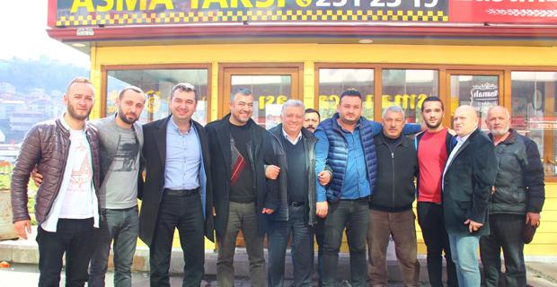 Nurhan Başoğlu, taksici esnafını dinledi