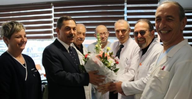UYSAL'dan Tıp Bayramı ziyaretleri