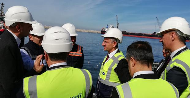 Vali Erdoğan Bektaş, Eren Enerji Limanı'nı inceledi