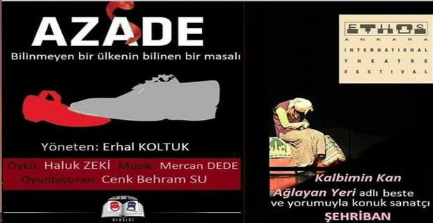 AZADE oyunu Ankara'da