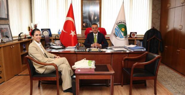 BAKKA'dan Başkan Alan'a ziyaret