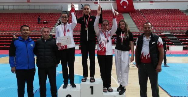Çaycuma'ya Türkiye ikinciliği getirdi