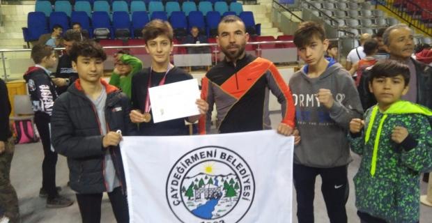 Çaydeğirmeni'nden Türkiye Şampiyonu çıktı