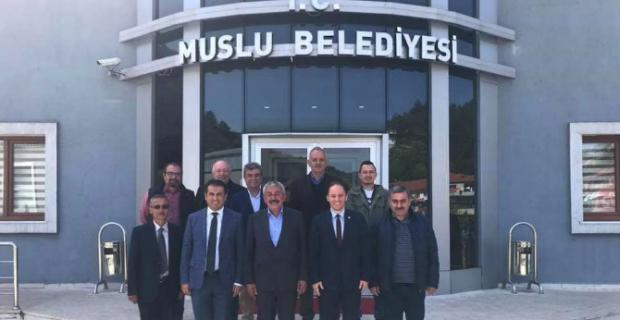 CHP'li vekiller, CHP'li belediyeleri ziyaret etti