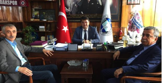 Demirtaş'tan GMİS'e ziyaret