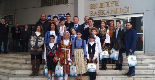Dünya çocuklarından ALAN'a ziyaret