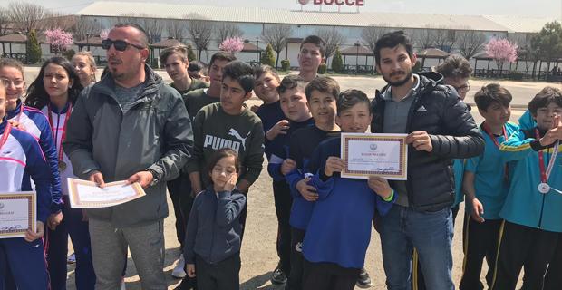 Şehit Madenciler Okulu şampiyon oldu