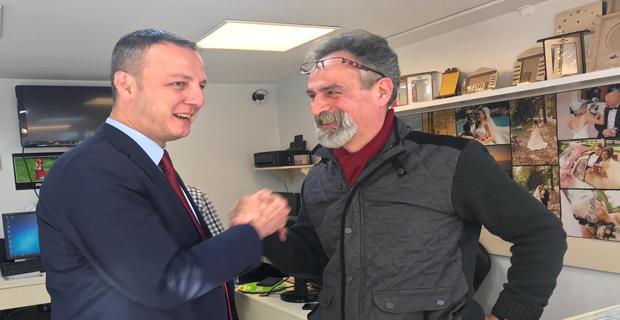 Selim Alan, Gazipaşa esnafıyla sohbet etti