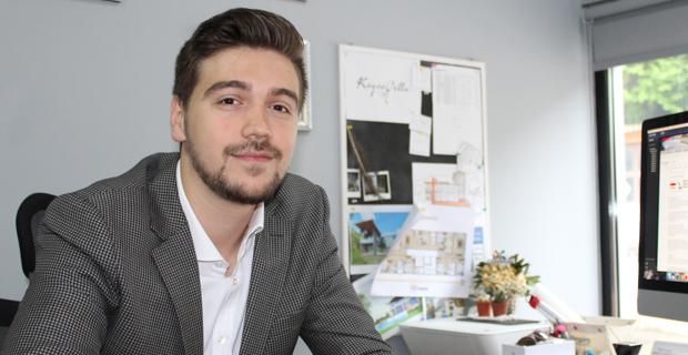 Zonguldaklı genç Mimar dünya evine giriyor