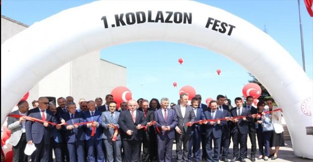 1. KODLAZON Festivali açılışı gerçekleşti…