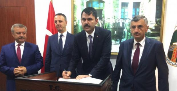 Çevre Bakanı Zonguldak'ta...