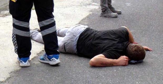 Elektrik direğinde akıma kapılan işçi yaralandı