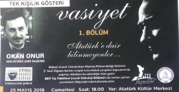 Haydi Zonguldak Lösemi çocuklar için destek zamanı…