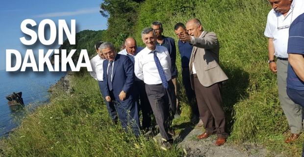 Vali Bektaş, Ereğli'de incelemelerde bulundu