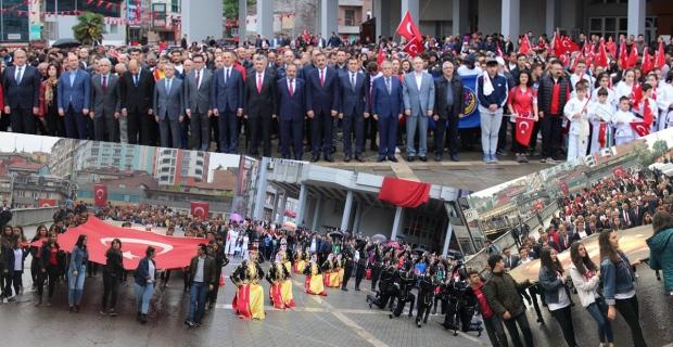 Zonguldak'ta 19  Mayıs coşkusu...