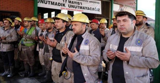 Zonguldak'ta grizu faciasında ölen 30 işçi anıldı