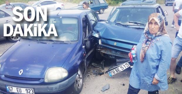 Çaycuma-Perşembe yol ayrımında kaza