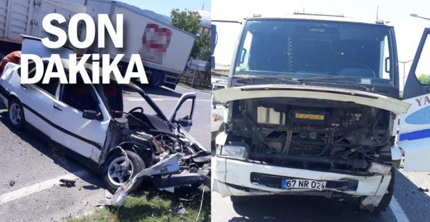 Devrek'te kaza: 2 yaralı