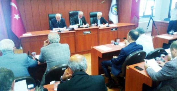 İl Genel Meclisi  toplandı