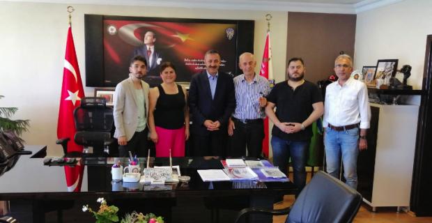 KGD'den Turanlı'ya ziyaret