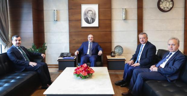 Milletvekilleri Bakan Varank'ı ziyaret etti