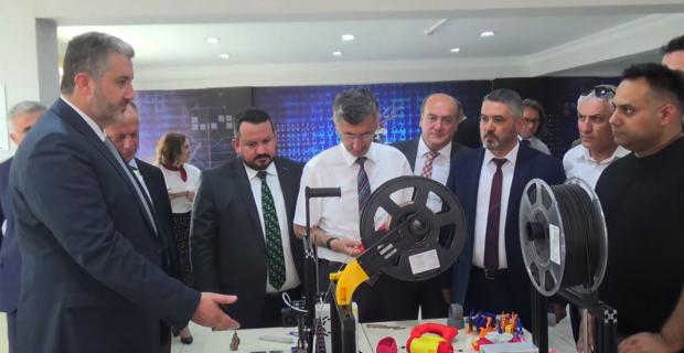 MÜSİAD Genel Başkanı BİLSEM'i inceledi