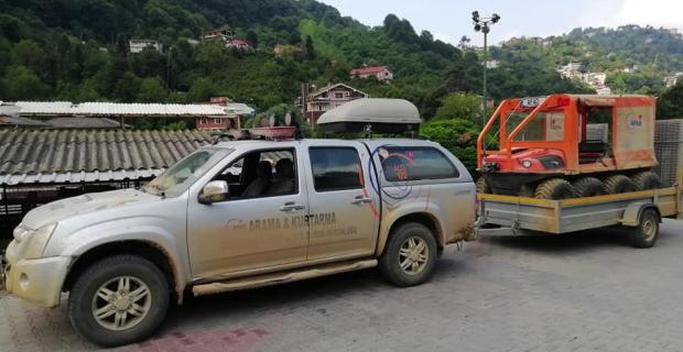 AFAD Zonguldak'a dönüş yaptı