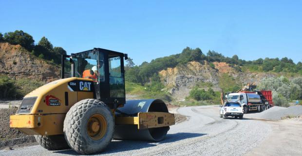 Ereğli'de asfalt çalışması başladı