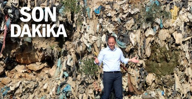 Eski çöp döküm alanı tehlike saçıyor