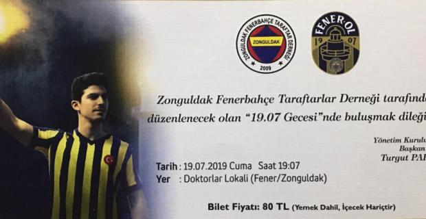 Fenerbahçelilerden 1907 Gecesi