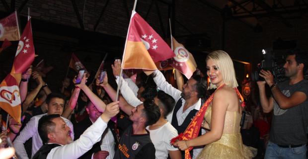 Galatasaray'ın 22. şampiyonluğu kutlandı