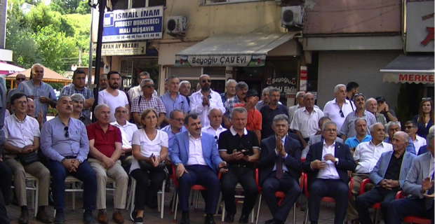 Karaelmas Abhaz Kültür Derneği Çaycuma'da açıldı