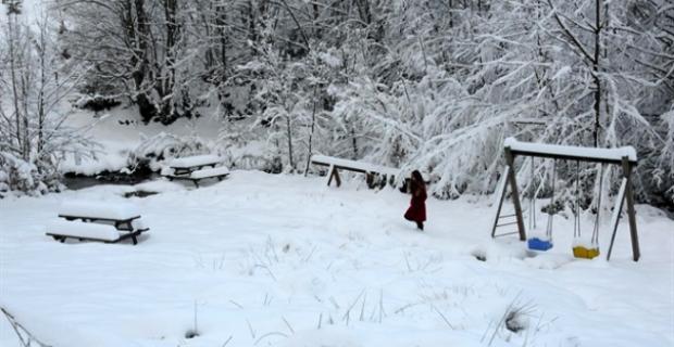 Zonguldak'a 1 metre kar yağdığını biliyor muydunuz?