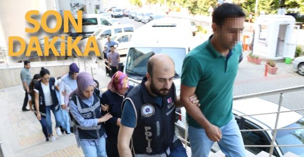 Zonguldak'ta FETÖ operasyonu: 8 şüpheli adliyede
