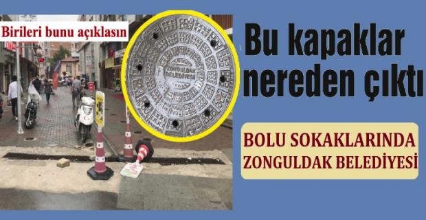 Bolu caddelerinde Zonguldak Belediyesi tartışması