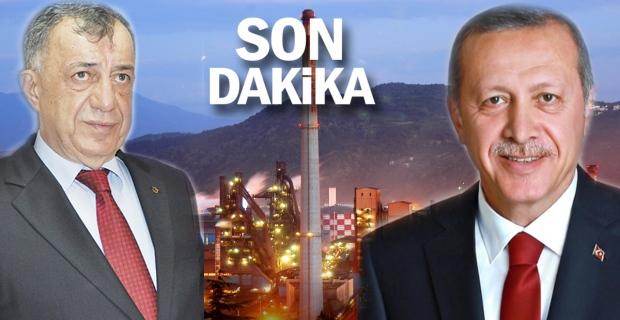 ERDEMİR'i, Cumhurbaşkanı'na şikayet etti