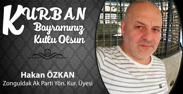 Hakan Özkan Kurban Bayramı'nı kutladı