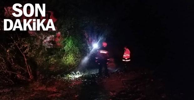 Köprü çöktü, 7 kişilik aile AFAD ekiplerince kurtarıldı