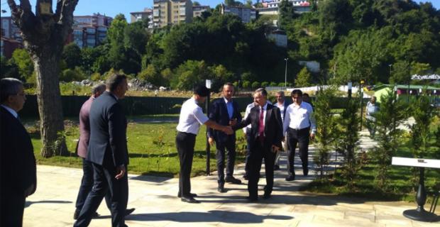 Manolya Park resmen açıldı